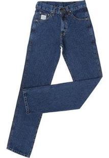 Calça Jeans King Farm Gold King Original Masculina - Masculino-Azul Escuro