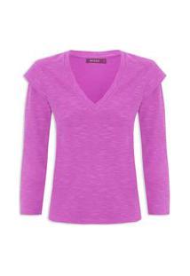 Camiseta Feminina Purple - Roxo