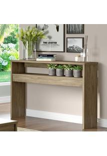 Aparador Ap04 Com 1 Nicho Modelo Wood Marrom - Decibal Móveis