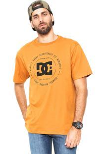 Camiseta Dc Shoes Rebuit Color Caramelo