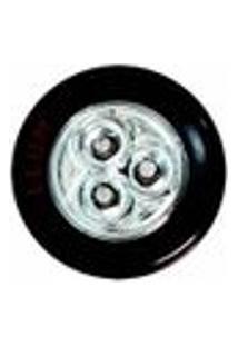 Luminária Led Button Llum 3 Pilhas Preta Bronzearte