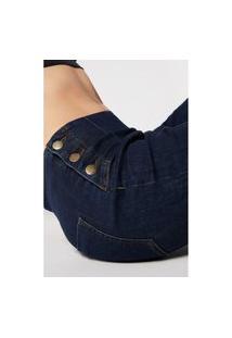 Jeans Flare Sailor - Azul G