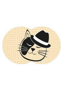 Tapete Pet Gato Bege 55X35Cm