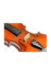 Painel Adesivo De Parede - Violino - Instrumento Musical - 612Pnm