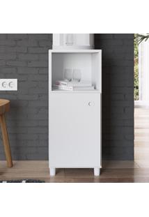 Armário De Cozinha 1 Porta Bl030 Branco - Art In Móveis