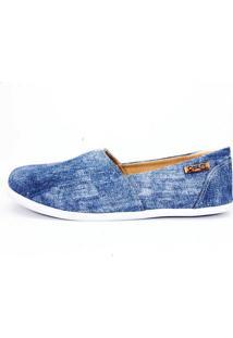 Alpargata Quality Shoes Feminina 001 Jeans 38