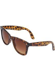 Óculos Ray Flector W2401 Feminino - Feminino-Caramelo