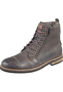 Bota Shoes Grand Ziper Masculina - Masculino-Verde Escuro