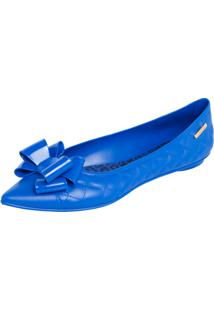 Sapatilha Colcci Kate Bico Fino Azul