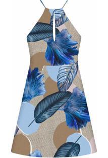 Vestido Evasê Estampa Cenote - Lez A Lez