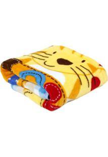 Cobertor Bebê Inter Home Bege