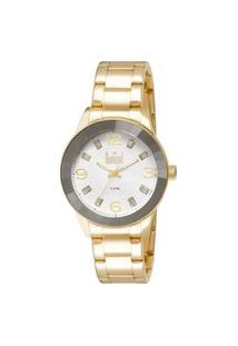 Relógio Feminino Analógico Dourado Dumont - Du2036Ltr/4K Dourado