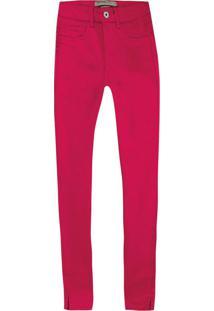 Calça Rosa Escuro Cropped Resin Care