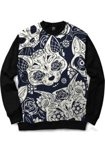 Blusa Bsc Mexican Cat Full Print - Masculino