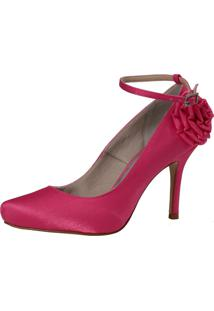 Scarpin Laura Prado Festa Pink