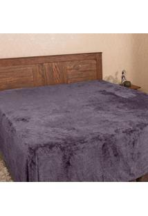 Cobertor Casal 1,80X2,20M Patrícia Foster Chumbo
