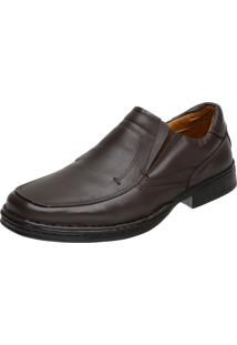 Sapato Doctor Pé Conforto Autêntico Café