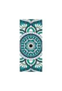 Adesivo Decorativo De Porta - Mandala - 2044Cnpt