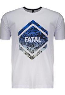Camiseta Fatal Graffiti Estampada Masculina - Masculino