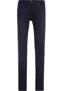 Calça Masculina Jeans Confort - Preto