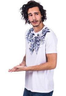 Camiseta Long Island Floral Masculina - Masculino