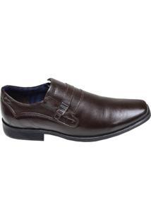 Sapato Masculino Social Ferracini Café Escuro