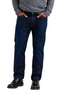 Calça Jeans Levis 541 Athletic Taper Lavagem Escura Masculina - Masculino-Azul Escuro