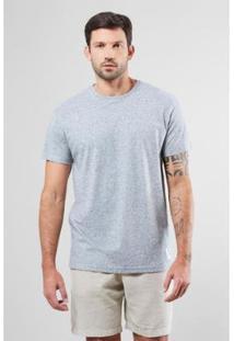 Camiseta Pf Diferenciada Long Areia Reserva Masculina - Masculino-Cinza