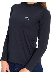 Camiseta Térmica Manga Longa Mprotect Preto