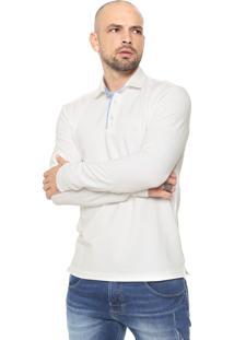 Camisa Polo Polo Wear Reta Logo Off-White