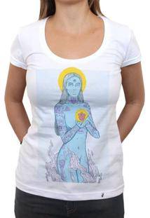 Inked Trinity - Blue - Camiseta Clássica Feminina