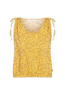 Blusa Feminina Magnolia Cami - Amarelo