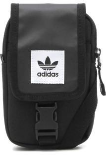 Pochete Adidas Originals Map, Único Preto