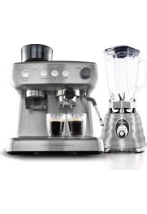 Kit Liquidificador E Cafeteira Expresso Oster 127V