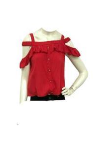 Blusa De Alca Vermelho Endless E12667- 239