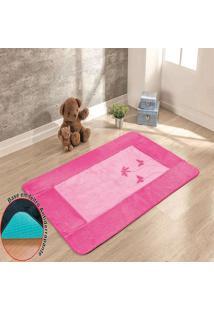 Passadeira Guga Tapetes Big Premium Libelula 120Mx74Cm Pink