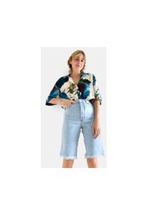 Bermuda Cliclista Refarm Jeans
