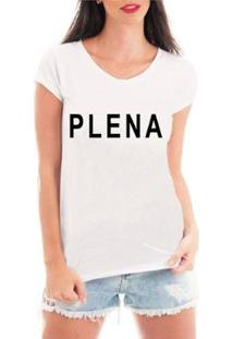 Blusa Criativa Urbana Plena T-Shirt Feminina - Feminino