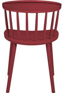 Cadeira Dona Francisca Vermelho Marsala