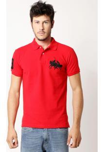 Camisa Polo Ralph Lauren Dual Mach Vermelha