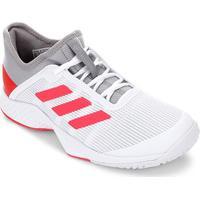 2f837480 Tênis Adidas Adizero Club Masculino - Masculino-Cinza+Vermelho