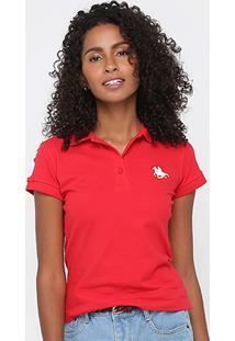 Camisa Polo Rg 518 Bordada Feminina - Feminino