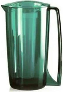 Jarra Vitra Com Resfriador 1,8 Litros Verde Esmeralda - Ou - Incolor - Dafiti
