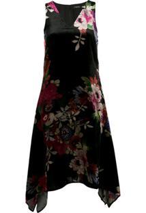 Natori Vestido Com Estampa Floral - Preto