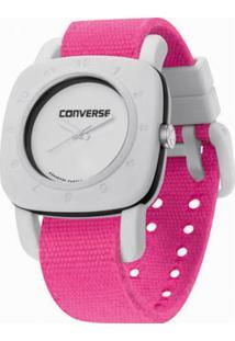 Relógio Converse 1908 Regular Branco/Rosa
