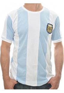Camiseta Retro Mania Argentina 1986