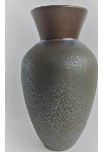 Vaso Ceramica Metalizado Gr - Multicolorido - Dafiti