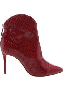 Bota New Western Croco Red | Schutz