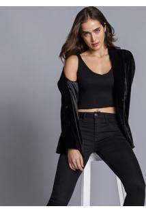 Calça Jeans Bali Ever Black Preto Reativo - Lez A Lez