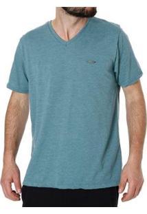Camiseta No Stress Manga Curta Masculina - Masculino-Verde